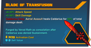 Caldarius-Blade