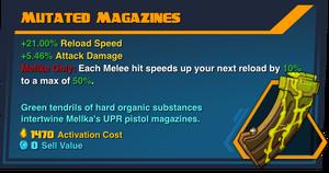 Mutated magazines