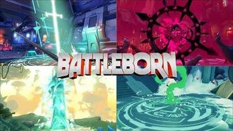 Battleborn - All Characters - Weapons, Abilities, Movement (Animations, Effects & Sounds)