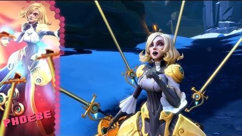 Battleborn Phoebe Gameplay Video