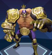 El Dragon campeon skin