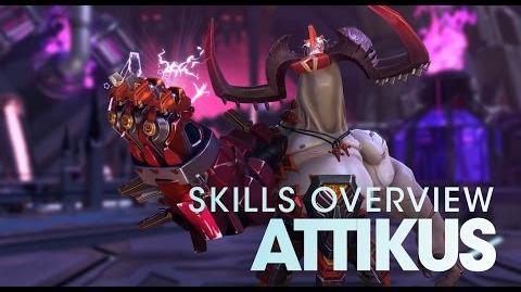 Battleborn Attikus Skills Overview