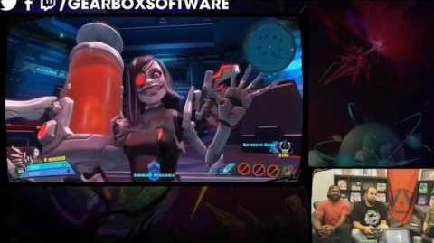 Beatrix Dojo footage - Straight from the Gearbox Twitch Stream