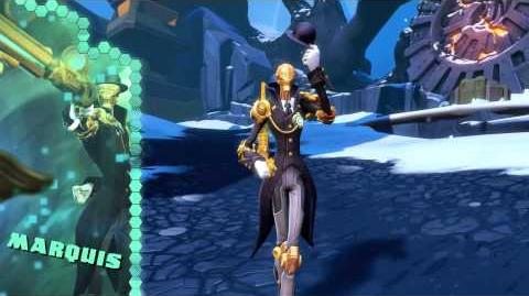 Battleborn Marquis Gameplay Video