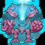 Core discharge icon