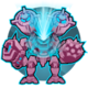 Core discharge icon