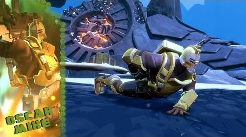 Battleborn Oscar Mike Gameplay Video