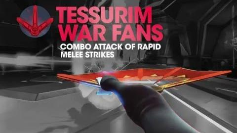 Battleborn Deande Tessurim War Fans