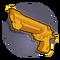 Laser pistol icon