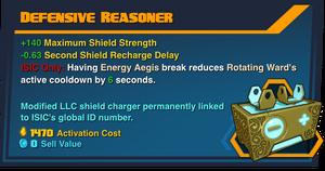 Defensive-Reasoner