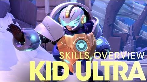 Battleborn Kid Ultra Skills Overview