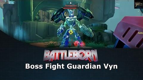 Battleborn Boss Fight Guardian Vyn