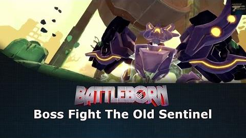 Battleborn Boss Fight The Old Sentinel