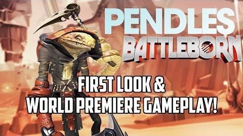 Battleborn New Hero Pendles Skills & Mechanics Analysis