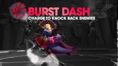 Battleborn Deande Burst Dash