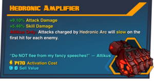 Hedronic amplifier