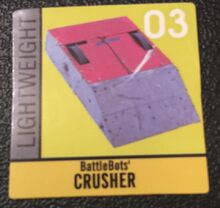 Crusher sticker
