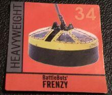Frenzy sticker