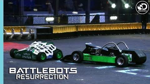Ultimo Destructo Gets Dissected BattleBots Resurrection