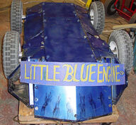 Little blue engine