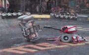 Tazbot vs Silverback SF01B