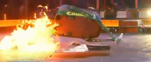 Chomp vs Warrior Dragon-0