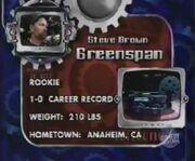 Greenspan stats 3.0