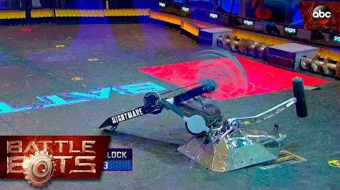 Beta vs. Nightmare - BattleBots