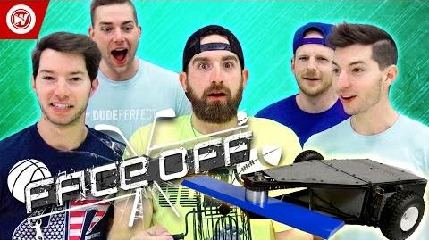 DUDE PERFECT Battlebots Edition FACEOFF