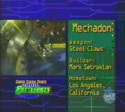 Mechadon stats 1.0