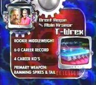 T-Wrex stats 3.0