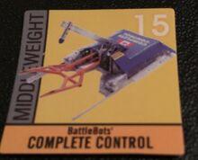 Complete Control sticker