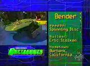 Bender stats sf00