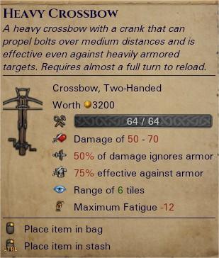 Heavy crossbow 0