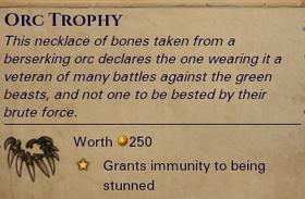 Orc-Trophy