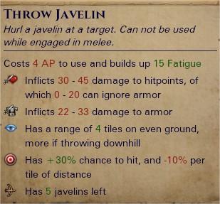 Javelins 1