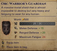 Orc Warrior's Guardian
