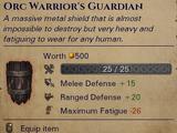 Уникальный щит орков