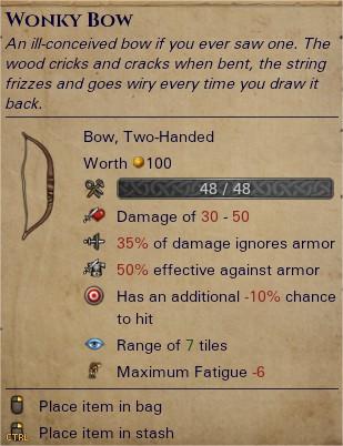 Wonky bow 0