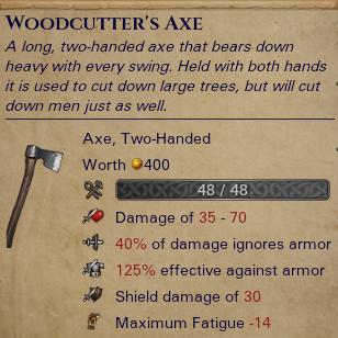 Woodcutter's Axe-0