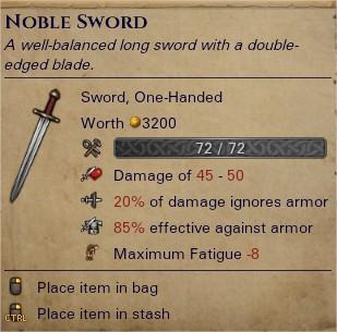 Noble sword 0