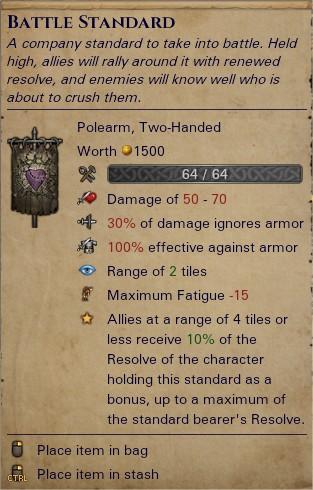 Battle standard 0