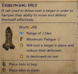 Throwing net 0