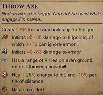 Heavy throwing axes 1