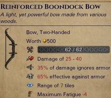 Reinforced-bundock-bow