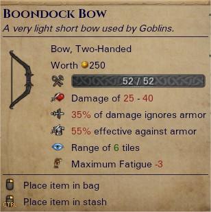 Boondock bow 0