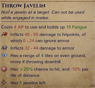 Heavy javelins 1