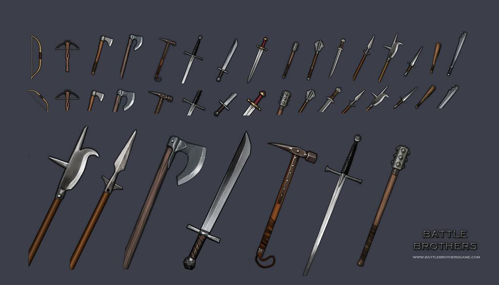 Melee Weapons   Battle Brothers Wiki   FANDOM powered by Wikia