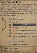 Masterwork bow 0