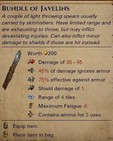 Bundle of Javelins